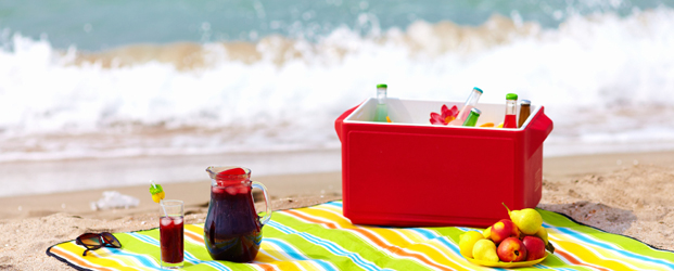 5 Healthy Beach Snacks